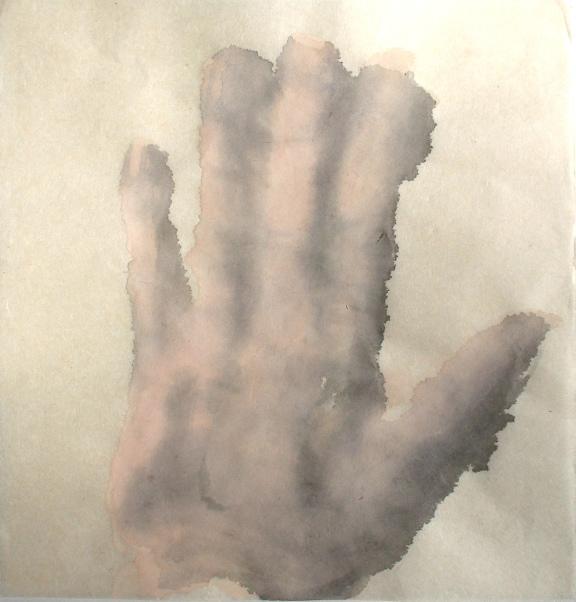 Left hand back